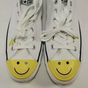 Chuck Taylor all star low Smiley Face